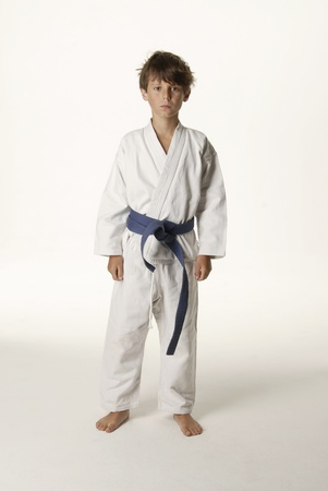 Martial arts student photo