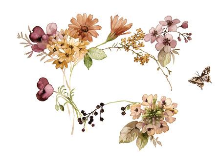 flor: dibujo a mano