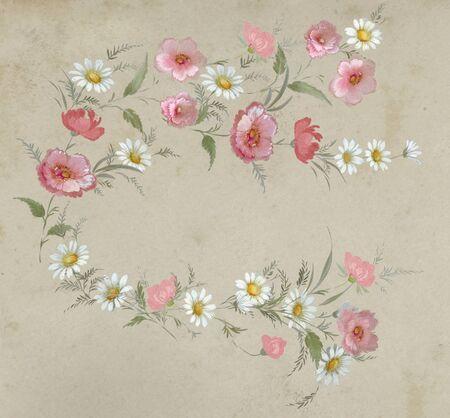 ramo de flores: floral mano hizo diseño