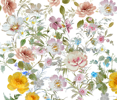 natural backgrounds: floral hand made design