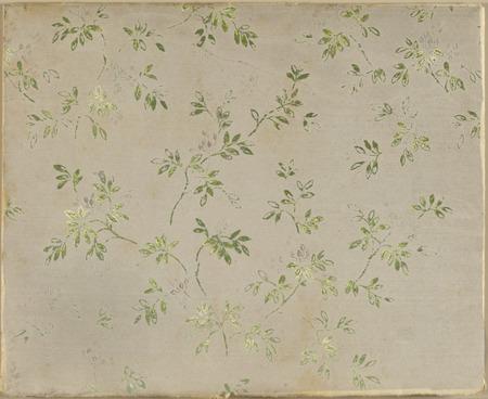 background paper: floral hand made design