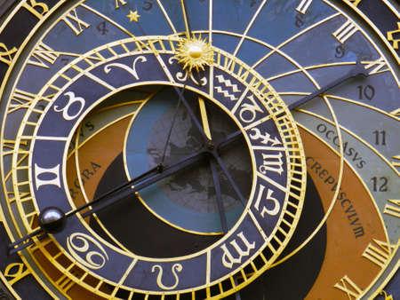 praga: Prague clock