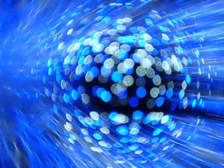 underlay: blue abstract