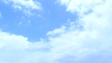 soft background: sky cloud Stock Photo