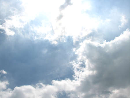 coagulation: sky and clouds