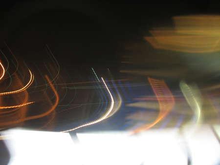色の背景ぼけのトレース 写真素材