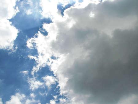 coagulation: sky cloud Stock Photo
