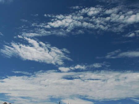 buoyancy: sky and clouds