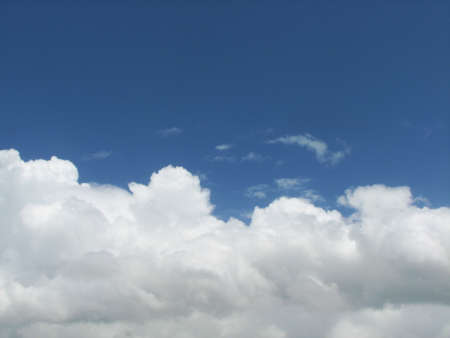 v cycle: A cloud is composed of many small water droplets and ice crystals