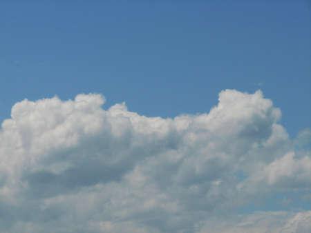 blue sky: blue sky Stock Photo