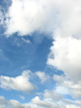 buoyancy: blue sky, cloud