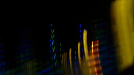 Blurred traces colored background Reklamní fotografie