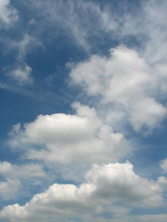 troposphere: Highlighting the protagonist sky background Stock Photo