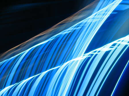 spectral color: Flying light Stock Photo