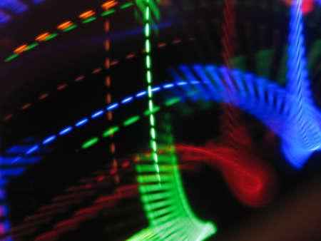 electronica musica: Música electrónica Luz Foto de archivo