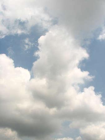 buoyancy: Clouds look like cotton