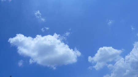 troposphere: blue sky and cloud Stock Photo