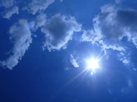 buoyancy: sun Stock Photo