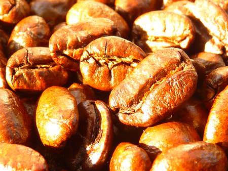 coordinacion: los granos de café tostados