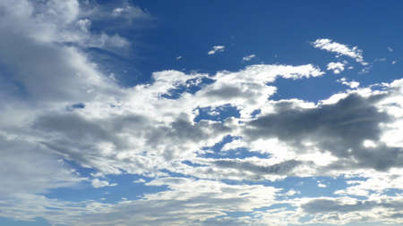 atmosfera: Las nubes son gotas de agua en el conjunto de la atm�sfera