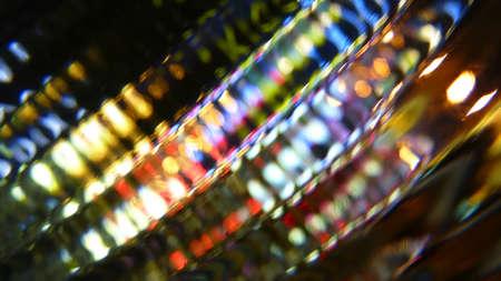 éxtasis: colores abstractos energéticos Foto de archivo