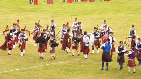 march band: Hong Kong joint Highland Pipe Band