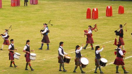 gaita: Highland Banda conjunta Hong Kong Pipe