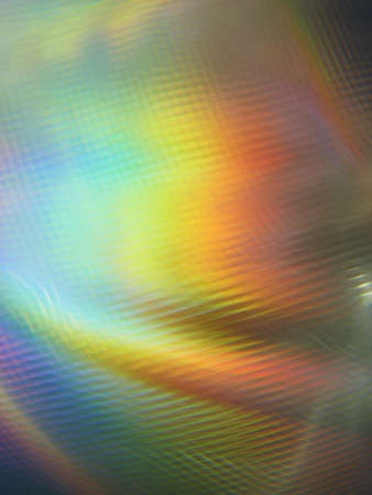 diffraction: Blurred traces colored background Stock Photo