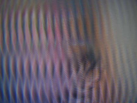 amplitude: Blurred traces colored background Stock Photo