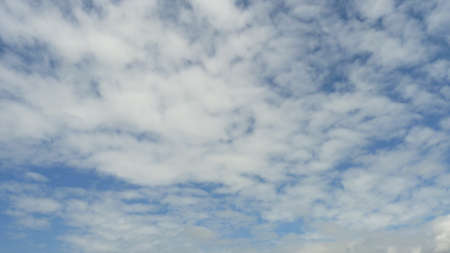 fine particles: Clouds in the blue sky