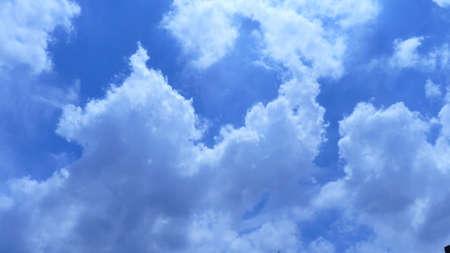 water vapour: Water vapor condenses into cloud Archivio Fotografico