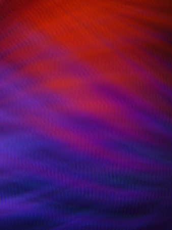 Curved lines blurred lights