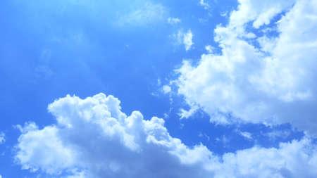 vapore acqueo: Sky can enjoy the many beautiful phenomenon Archivio Fotografico