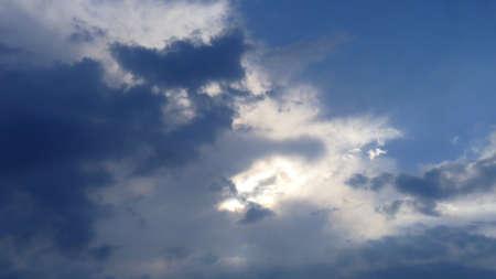 steel: Clouds in the blue sky