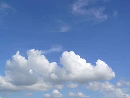 vapor: Water vapor condenses into cloud Stock Photo
