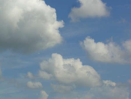 fine particles: Water vapor condenses into cloud Stock Photo