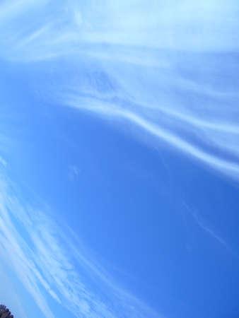 Water vapor condenses into cloud Banco de Imagens