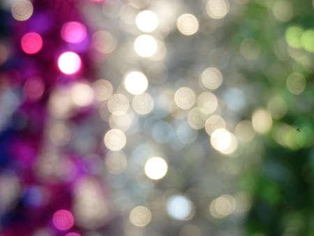 Christmas magical flashing lights soft colors