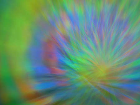 Abstract blurred light