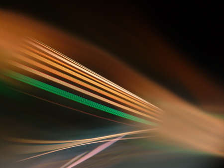 Incoming electromagnetic wave light Stock Photo - 84333625