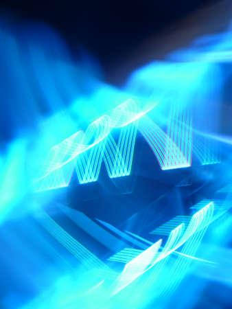 Scientific, future, energy technology concept