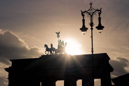 Brandenburg Gate in Berlin, Germany photo