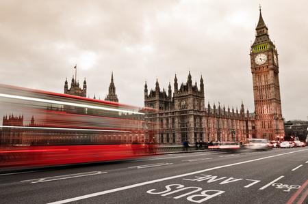 Traffic through London photo