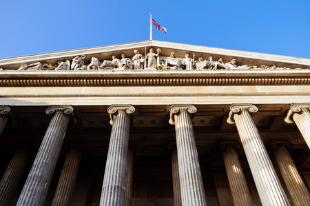 British Museum in London, Uk