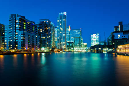 Apartments and office building in Docklands, London