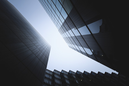 Corporate buildings in London Фото со стока