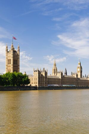 View of Big Ben and Westminster, London.