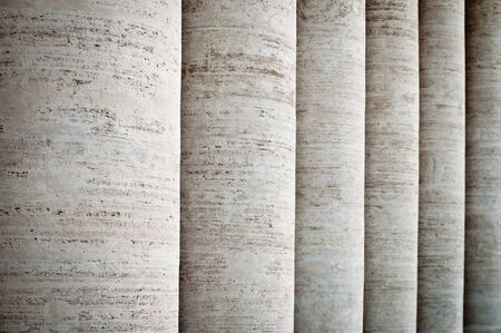 architectural firm: Marble column pattern in Rome
