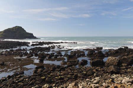 Northern coast of County Antrim Northern Ireland.