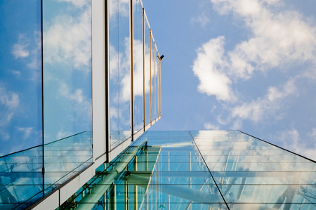 Modern buildings in London